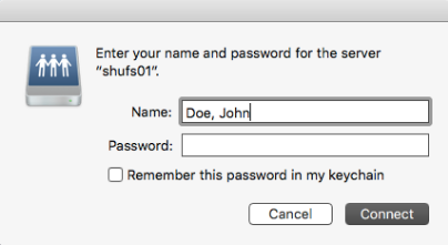 Password Changes: Network Drives/Shares – Solution Center : x1805